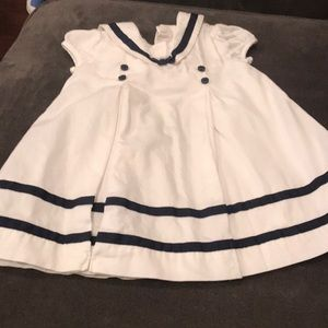 Janie & Jack baby girl sailor dress